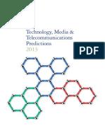 ICT & Telecom Predictions by TMT