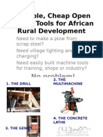 4 Simple Cheap Tools for Africa