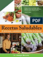 Recetas Saludables Spanish Edition