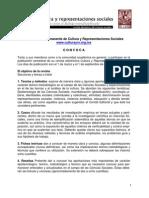 Convocatoria_gral. Revista Cultura y Representaciones Sociales