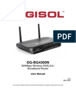Data Products DIGISOL RANGER Series Downloads DG BG4300N_User Manual