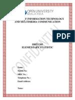 Assignment SBST1303