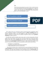 Mixed Methodology for Dissertation