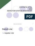 7. Statistik Vital Dan Indikator Status Kesehatan