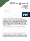 Professor David Shorter Statement of Support for Divestment