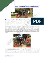 Konsep Modifikasi Tampilan Motor Honda Tiger