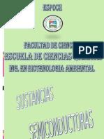 SUSTANCIAS SEMICONDUCTORAS