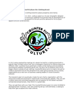 Announcing the CounterFitCulture the Clothing Brand