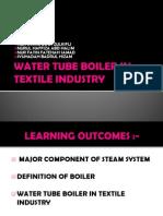 Water Tube Boiler in Textile Industry
