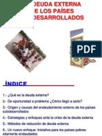 La Deuda Externa de Los Paises Subdesarrollados Dic 2009