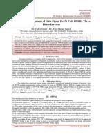 Design and Development of Gate Signal for 36 Volt 1000Hz Three  Phase Inverter