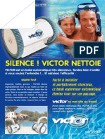 Victor robot for swimming pool