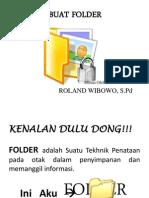 Modul Cara Buat Folder