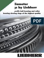 liebherr slew bearing catalog
