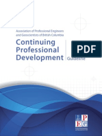 APEGBC Continuing Professional Development Guideline