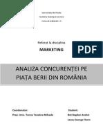 138332395 Concurenta Pe Piata Berii Din Romania