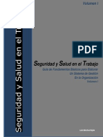 SST Fundamentos Para Elaborar SG de SyST VOL I