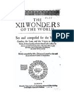 Maynard XIIWonders