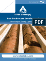 ALS Metallurgy - Iron Ore Process Development
