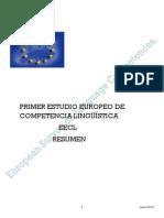 Traduccion. Primer Estudio Europeo de Competencia Linguistica