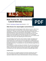 risk factors for ALS Amyotrphic lateral sclerosis.doc