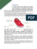 Analysis of Crocs Case