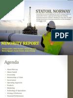 Statoil Norway - Minority Report v2