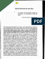 LYON - Postmodernidad Historia de una Idea
