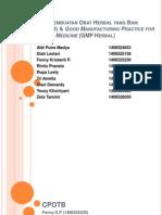 Kelompok 4_CPOTB Dan GMP