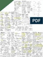 fluid dynamics equation sheet. thermo formula sheet. cheatsheet 2143 fluid dynamics equation sheet