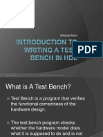 Writing Test Bench