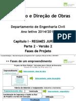 LDO 2014_2015 Capitulo I - Regimes Juridicos_parte2_Fases Projeto