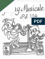 P.S. 104 Spring Musicale program