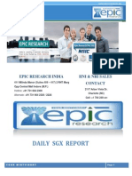 EPIC RESEARCH SINGAPORE - Daily SGX Singapore Report of 14th November 2014
