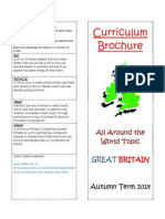 Class 3 - Curriculum Brochure Autumn 2014 Great Britain