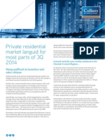 Colliers Singapore Private Residential Maket Report - 3Q2014