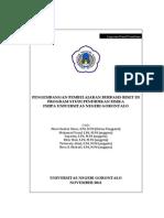 Pengembangan Pembelajaran Berbasis Riset Di Program Studi Pendidikan Fisika FMIPA Universitas Negeri Gorontalo Anggota 5