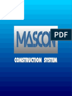 Mascon Construction System - Slide Presentation