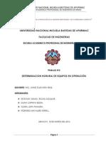 DETERMINACION HORARIA DE LAS MAQUINARIAS EN OPERACION.docx