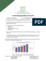 Instant Messaging Market 2012 2016 Brochure