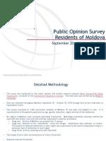 Survey of Moldovan Public Opinion, September 20-October 20, 2014
