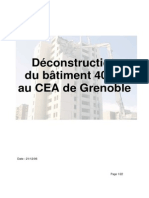 Deconstruction Du Batiment 40-21