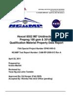 Hexcel 8552 IM7 prepreg tests