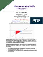 Global Economics Study Guide - UCN Financial Management Semester 3