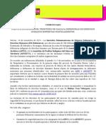 Comunicado Hostigamiento Contra Defensoras Del Territorio en Juchitán (Oaxaca, México)-141114
