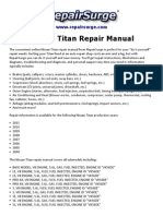 Nissan Titan Repair Manual 2004-2011