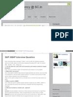 ABAP_Q&A
