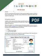 TestDay Guide CAT 2014V1.1