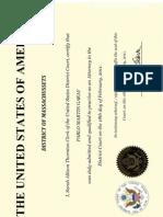 Diploma - Boston