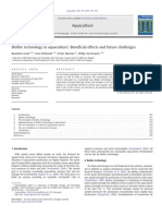 Biofloc Technology in Aquaculture- Beneficial Effects and Future Challenges